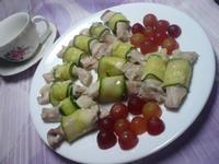 健康美食─黃瓜肉片捲─家樂福廚神大賽