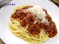 義大利蕃茄肉醬麵-傑米.奧利佛 習作
