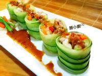 黃瓜燒肉捲佐和風胡麻醬『家樂福廚神大賽』