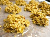免烘培:花生醬燕麥餅乾