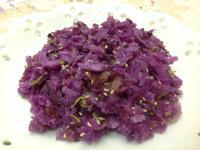茶油煎紫色山藥餅(家樂福廚神大賽)