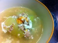 冬瓜咸蛋肉碎湯