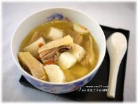 山藥蔘雞湯【VICI的懶人廚房】