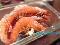 簡易海鹽焗烤蝦
