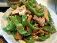 細兒<3 豆干豬肉炒青椒