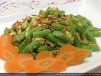 櫻花蝦金莎四季豆