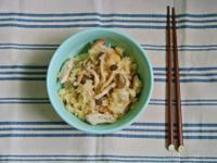 【外宿料理】野菇雞肉炊飯