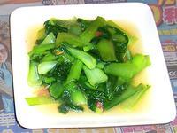 [ 5分鐘快炒] 蒜香青江菜