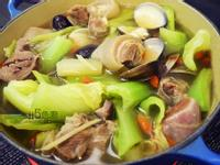 刈菜菜心羊肉湯(可當火鍋湯頭)