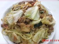 低脂什錦炒麵(水煮法)