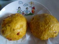 麵包機+手工~枸杞地瓜饅頭