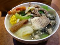 什錦海鮮麵-勤億幸福雞高湯快易煮料理