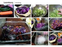 涼拌紫高麗菜