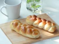 葡萄乾辮子麵包