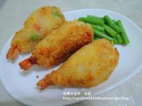 薯泥炸蝦棒棒腿