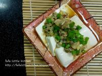 薑蓉蜆碎蒸豆腐
