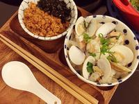 瑤柱(干貝)蛤蜊雞腿砂鍋炊飯