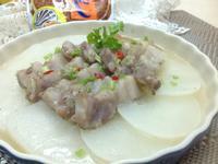 鹹豬肉蒸白蘿蔔片(烹大師時食饗宴)