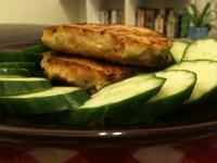 鮮蔬鮪魚豆腐漢堡排