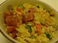 小黃瓜香腸蛋炒飯