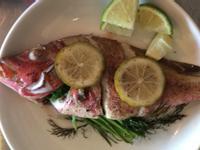 茴香(蒔蘿)烤紅雞魚
