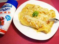 泰式香蕉煎餅--鷹牌煉奶