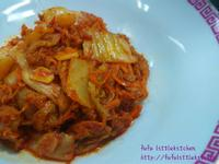 泡菜炒豬肉片