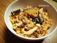 南瓜菇菇炊飯