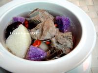 雙色山藥排骨湯_電鍋料理