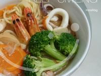 [湯麵]海鮮義大利湯麵