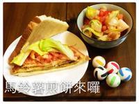 馬鈴薯煎餅三明治 @188懶人料理