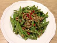 蒜香四季豆。by克莉絲塔
