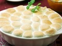 甜薯棉花糖派
