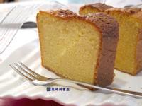 鮮奶油香草磅蛋糕