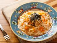 (自製白醬) 和風奶油蝦卵義大利麵