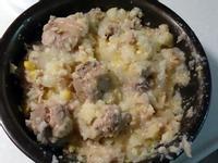 悶燒鍋-蘿蔔排骨玉米粥 (大寶寶副食品)