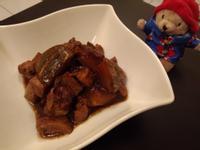 醬燒南瓜豬肉