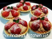 香甜草莓塔(草莓卡士達版)