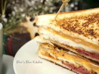花生醬火腿起司三明治