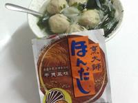 蘿蔔絲海帶芽貢丸湯~烹大師時食饗宴