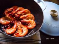 枸杞麻油蝦❤冬日暖呼呼進補料理