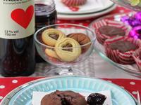 甜點-溶岩巧克力蛋糕