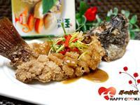 咖哩松鼠魚【榖盛綠咖哩】