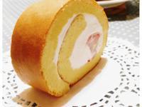 日式草莓棉花蛋糕卷