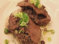 豬肝+紅豆=補血(相傳食補)