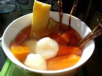 竹蔗茅根水