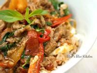 塔香番茄牛肉丼飯