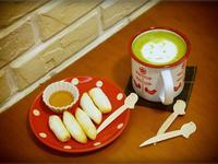 酥烤年糕+笑咪咪抹茶~ zakka風午茶