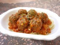 肉丸番茄義大利麵