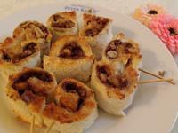 核桃肉桂吐司捲